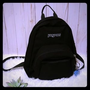 Jansport mini backpack with free blue keychain